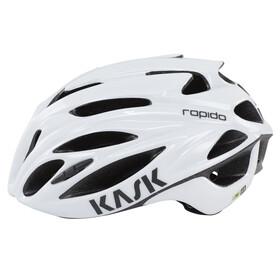 Kask Rapido Helm weiß